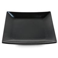 "[Clearance] Tenmoku Glazed Square Black Plate 12.28"" x 12.28"""