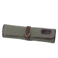 Boldric Green Canvas DD Hook Tie Knife Bag