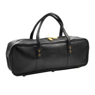 Boldric Black Leather All Purpose Tool Bag
