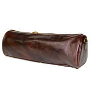 Boldric Brown Leather Duffle Knife Bag