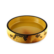 "Grape Motif Sushi Serving Tray 10 5/8"" dia"