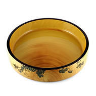 "Grape Motif Sushi Serving Tray 13"" dia"