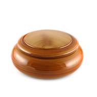 """Golden Caramel Chirashi Sushi Box 7 7/8"""" dia"""