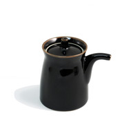 Hakusan Black G-Shaped Soy Sauce Dispenser