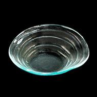"[Clearance] ""Ripple"" Glass Bowl 8 1/4"" dia"