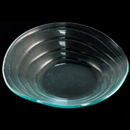 """Ripple"" Glass Bowl 11 1/2"" dia"