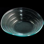 "[Clearance] ""Ripple"" Glass Bowl 11 1/2"" dia"