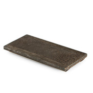 "Kinkessho Bronze Flat Rectangular Plate 10 1/4"" x 4 3/4"""