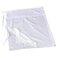[Clearance] Japanese Kimono Undergarment Laced Hem Susoyoke White