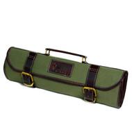 Boldric Green Canvas Roll Knife Bag