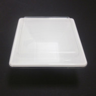 "[Clearance] White Take Out Tray Deep Square 6 1/4"" x 6 1/4"" (50/pack)"
