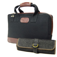 Boldric Black Canvas Mixology Bag Set