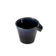 Cobalt Blue Glossy Ceramic Sake Server Mino Ware 4 oz