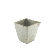 Cracked Square Ceramic Sake Server 9.5 oz
