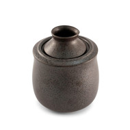 Black Kessho Ceramic Sake Server Set Medium 5 oz