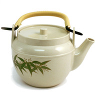 Bamboo Leaf Melamine Teapot 60 oz