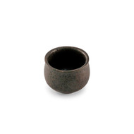 Black Kessho Ceramic Sake Cup 2 oz