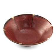 "Rustic Red Noodle Bowl 8 1/2""dia"