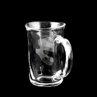 Tebineri Glass Beer Mug Cup 13.8 oz