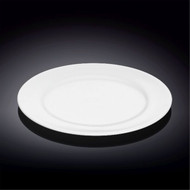 "Wilmax Durable White Bread Plate 9"" dia"