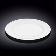 """Wilmax Durable White Bread Plate 9.02"""" dia"""