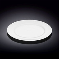 "Wilmax Durable White Bread Plate 8"" dia"