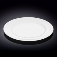 "Wilmax Durable White Dinner Plate 11"" dia"