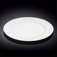 "Wilmax Durable White Dinner Plate 10.91"" dia"