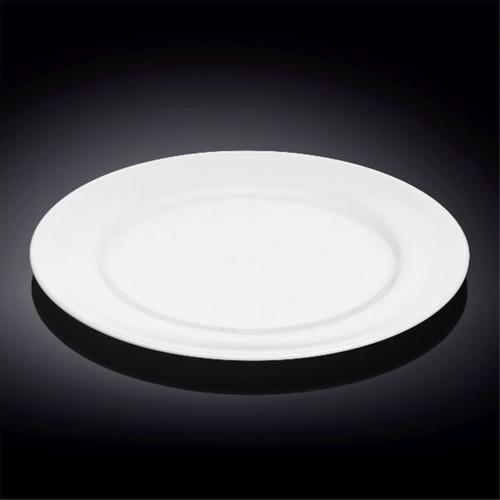 ... White Dinner Plate 10.91  dia. Image 1 & Wilmax Durable White Dinner Plate 10.91