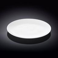 "Wilmax White Dessert Plate 8"" dia"