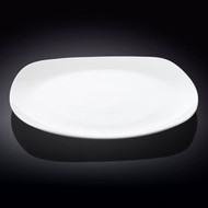 "Wilmax Square White Dinner Plate 11.5"" dia"
