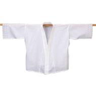 [Clearance] Japanese Kimono Undergarment Laced Sleeve Hanjyuban White Medium