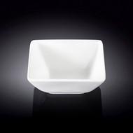 "Wilmax White Square Small Bowl 3.98"" x 3.7"""