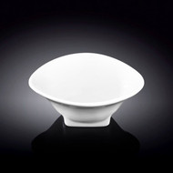 "Wilmax White Small Bowl with Stand 4"" dia"