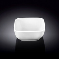 "Wilmax White Square Snack Bowl 3"" x 3"""
