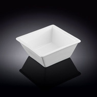 "Wilmax White Square Bowl 3.5"" x 1.5""h"