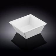 """Wilmax White Square Bowl 3.66"""" x 3.66"""""""