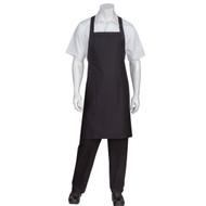 Chef Works® Cross-Back Bib Black Apron