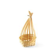 "Bamboo Basket Kamakura 2 3/8"" dia x 5 1/2"" ht"