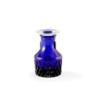 Crystal Glass Soy Sauce Dispenser Cobalt Blue 2oz