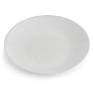 """Shigaraki White Plate 8.27"""" dia"""