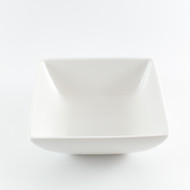 "[Clearance] White Porcelain Medium Square Bowl 5.5"""