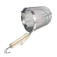"Ramen Basket Stainless Strainer (6 1/4"" Deep)"