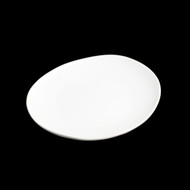 "[Clearance] White Porcelain Oval Plate 7"" x 6 1/4"""