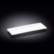 "Wilmax White Rectangular Plate 14"" x 5.5"""