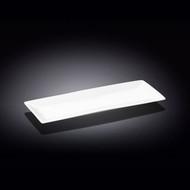 """Wilmax White Rectangular Plate 14.09"""" x 5.51"""""""