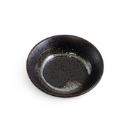 "Black Brushstroke Kobachi Bowl 3 1/2"" dia"