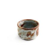 Aka Shino Japanese Sake Cup Guinomi Large 3.4 oz
