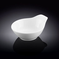 "Wilmax White Bowl with Handle 5"" dia"