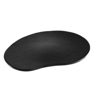 "Dark Wooden Serving Plate 10.4"" x 7.5"""
